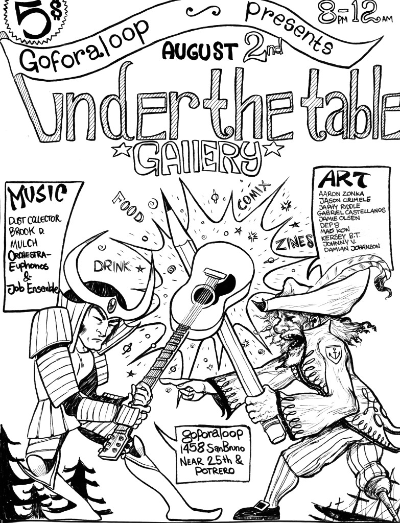 under the table flyer 1